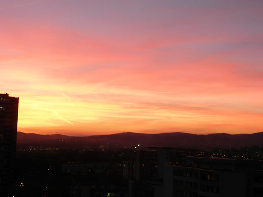 Premium Business Center Eschborn Sunset